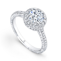 Beverley K Diamond Engagement Ring R1192(A)DDM