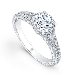 Beverley K Diamond Engagement Ring R1229(A)-DDM