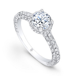 Beverley K Diamond Engagement Ring R1230(A)-DDM