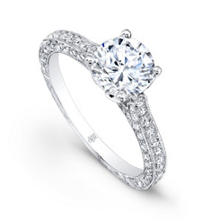 Beverley K Diamond Engagement Ring R1235(A)DDM