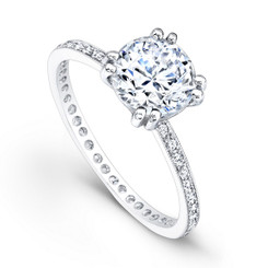 Beverley K Diamond Engagement Ring R4018(A)-DDM