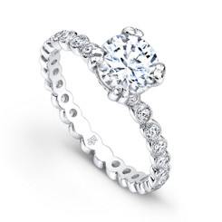Beverley K Diamond Engagement Ring R4019(A)-DDM