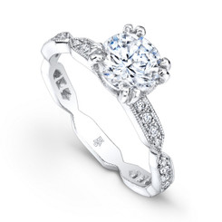 Beverley K Diamond Engagement Ring R4031(A)-DDM