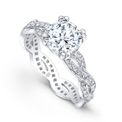 Beverley K Diamond Engagement Ring R4037(A)-DDM