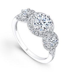 Beverley K Diamond Engagement Ring R9013(A)-DDM