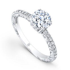 Beverley K Diamond Engagement Ring R9016(A)-DDM