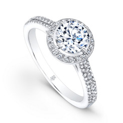 Beverley K Diamond Engagement Ring R9023(A)-DDM