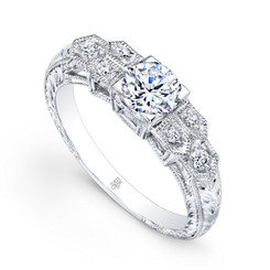Beverley K Diamond Engagement Ring R9301(A)-DDM