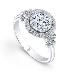 Beverley K Diamond Engagement Ring R9409(A)-DDM