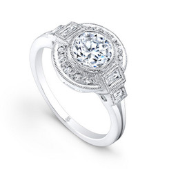 Beverley K Diamond Engagement Ring R9419(A)-DDM