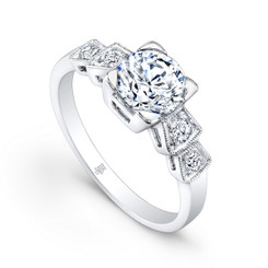 Beverley K Diamond Engagement Ring R9422(A)-DDM