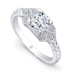 Beverley K Diamond Engagement Ring R9654(A)-DDM