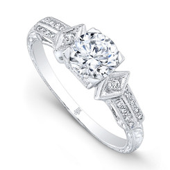 Beverley K Diamond Engagement Ring R9668(A)-DDM