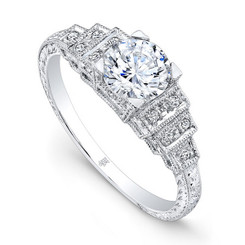 Beverley K Diamond Engagement Ring R9669(A)-DDM