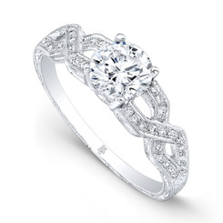 Beverley K Diamond Engagement Ring R9671(A)-DDM