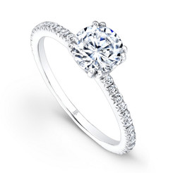 Beverley K Diamond Engagement Ring R166(A)-DDM
