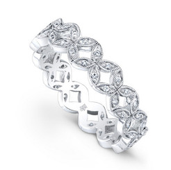 Beverley K Diamond Ring R4016-DD