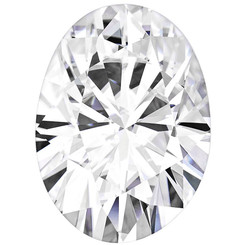 Charles & Colvard Forever One Oval Moissanite Colorless D-E-F