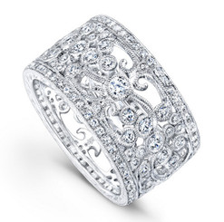 Beverley K Diamond Ring R9033-DD