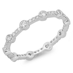 Beverley K Diamond Ring R10027-DD