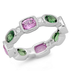 Beverley K Gemstone Ring R10036-PSTSWS