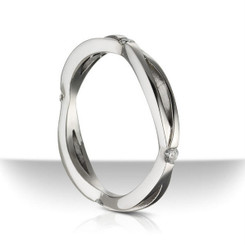 Sholdt twisp Wedding Band R508B-D