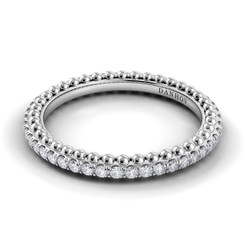 Danhov Petalo Round Diamond Band FE110B