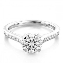 Danhov Classico Round Halo Engagement Ring WE522Q