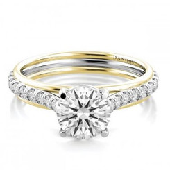 Danhov Unito Round Halo Engagement Ring UE505Q