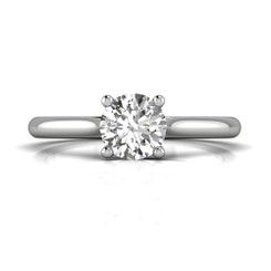 Martin Flyer Solitaire Engagement Ring DERS01XXSQ-6.0RD