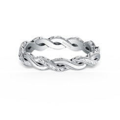 Kirk Kara Pirouetta Wedding Band K1220-B