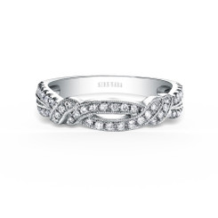 Kirk Kara Pirouetta Wedding Band K1330D-B