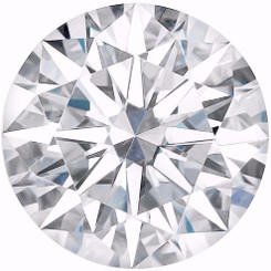 Charles & Colvard Forever One Moissanite Round Colorless D-E-F Hearts and Arrows