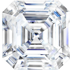 Charles & Colvard Forever One Moissanite Asscher - Colorless D-E-F