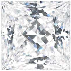 Charles & Colvard Forever One Moissanite Square - Colorless D-E-F