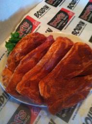 Seasoned pork steaks (4 per pack)