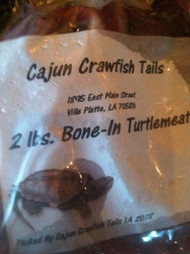 Turtle meat bone-in 2lb package