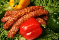 Smoked Beef and Pork Sausage (3 per pack)