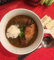 Don's Homemade Chicken & Sausage Gumbo (Quart)