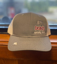 Khaki and Tan Don's Hat
