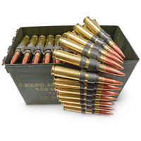 50 BMG linked Ball 100rds/can