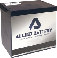 (2) Filler / Empty Allied Battery Cases