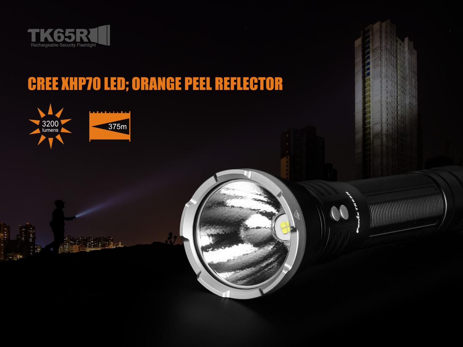 Fenix TK65R Rechargeable LED Flashlight