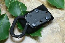 Hideaway Dress Black Belt Wrap