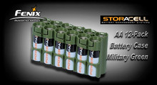 StorAcell 12AA Pack Battery Caddy (Military Green)