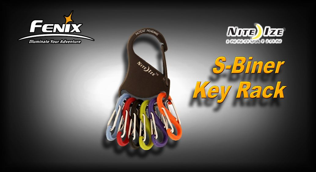 Nite Ize S-Biner Key Rack