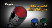 Fenix AOF-L Filter Adapter - Red
