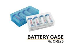 CR123 Battery Storage Case