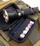 Battery Storage Case: CR123, AA, AAA Batteries