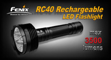 Fenix RC40 Rechargeable LED Flashlight - REFURB